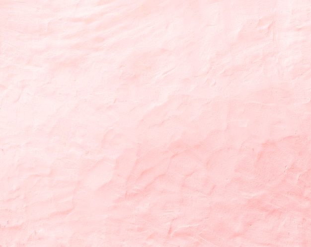 Texture of old pink concrete wall for background