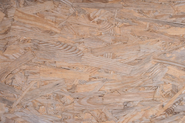 Texture of old pressed wood in plywood sheet