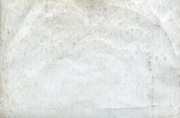 Texture of old shabby white paper background