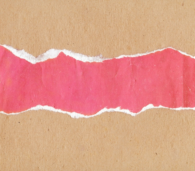 Texture of old vintage torn multicolored paper