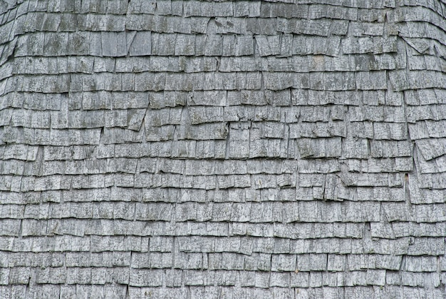 Texture of old wood shingles