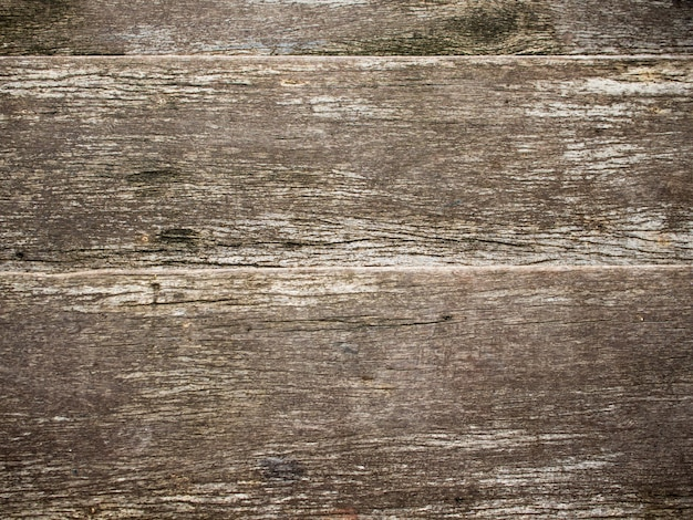 Texture of old a wooden fence