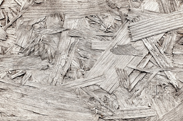 The texture of the osb