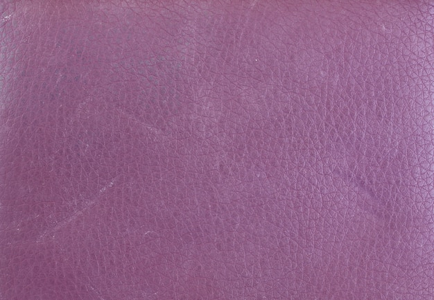 Texture of purple leather wallet.