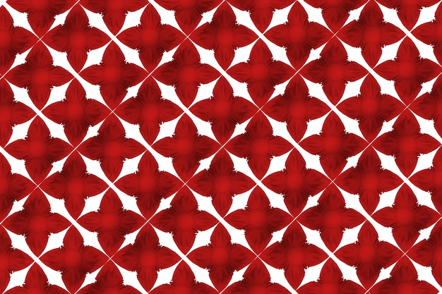Texture red flower shape pattern wall background