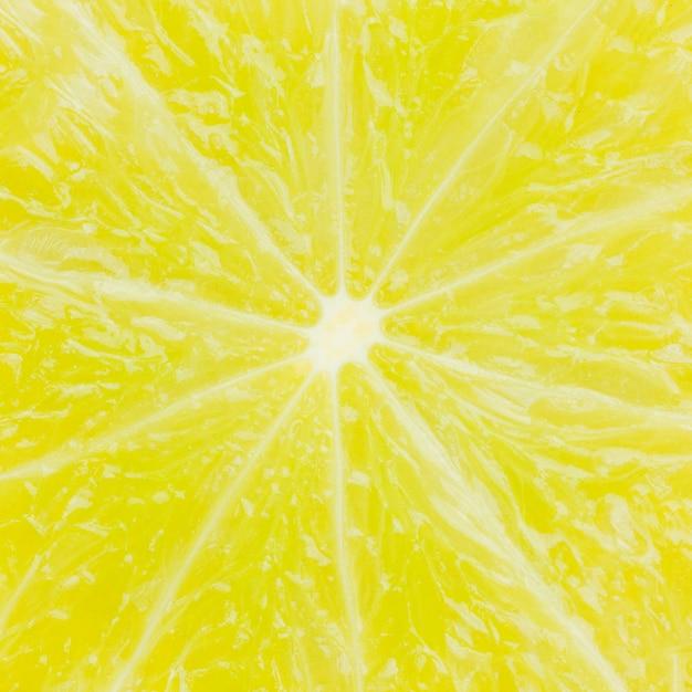 Texture of ripe lemon
