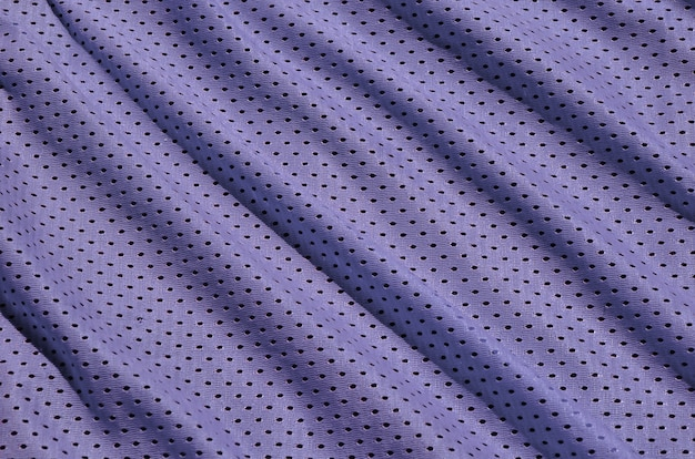 Texture of sportswear made of polyester fiber. outerwear for sports training has a mesh texture of stretchable nylon fabric