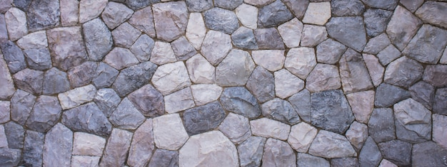 The texture of the stone wall for the background