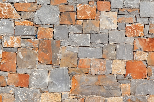 Texture of a stone wall. old castle stone wall texture background. s