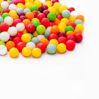 Texture of sweet multi-colored sweets