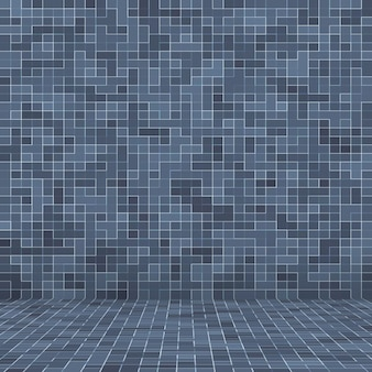 テクスチャスイミングプールモザイクタイルの背景。壁紙、バナー、背景。