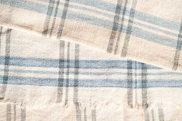 Texture of thai's simple pattern cotton fabric.