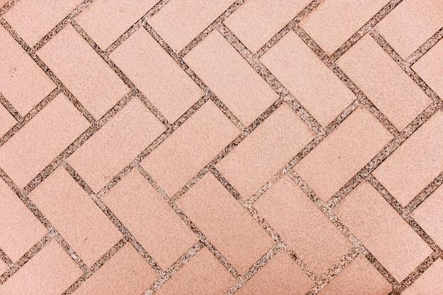 Texture tile flooring crossed