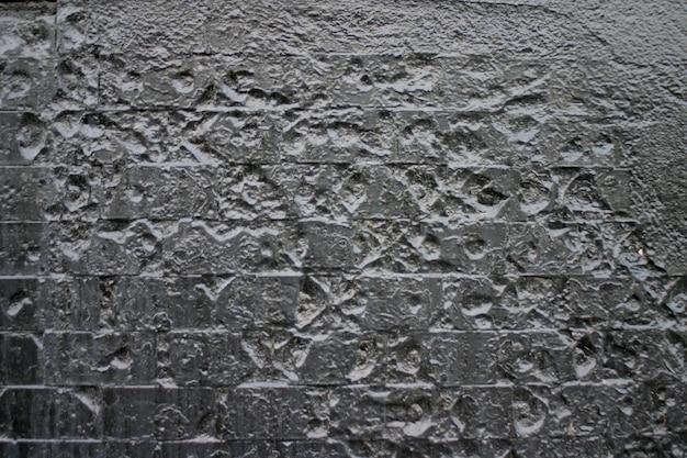 Texture of uneven plaster.