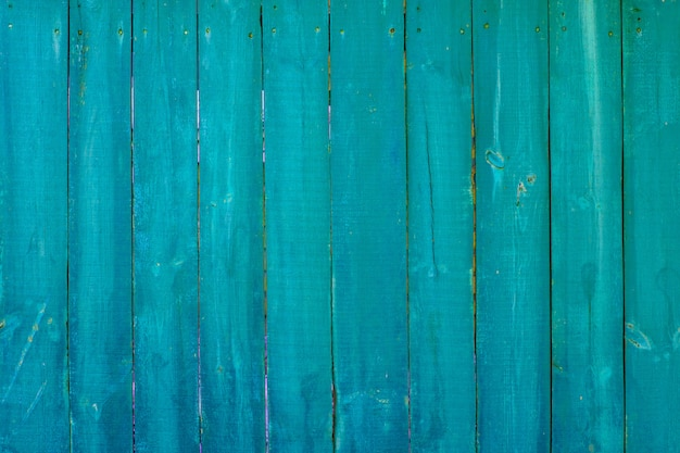Texture of vintage blue and turquoise painted wood