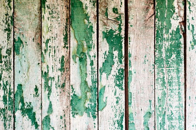 Texture of vintage blue and turquoise painted wooden
