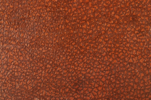 Texture of a vintage brown leather, background.