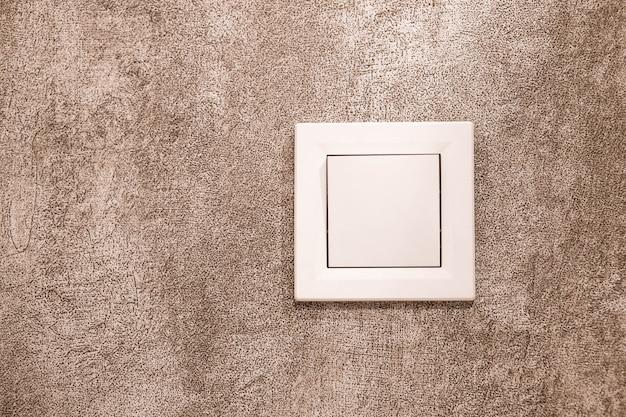 Текстура стены и выключатель