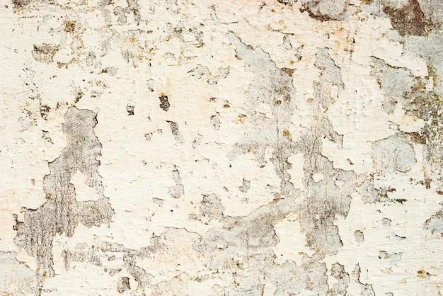 テクスチャ、壁、コンクリート、背景。傷やひび割れのある壁の破片