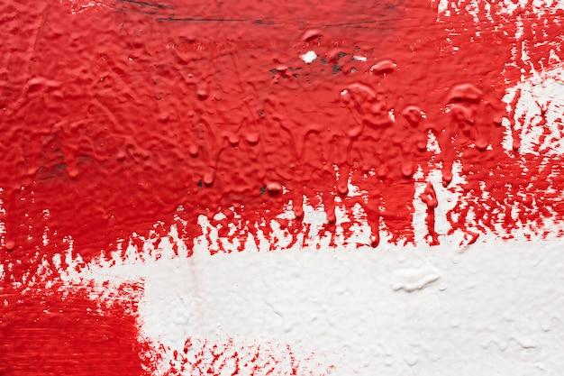 질감 벽, 물방울 페인트, 퍼티, 적 백색 벽