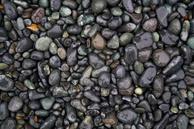 Texture of wet stones