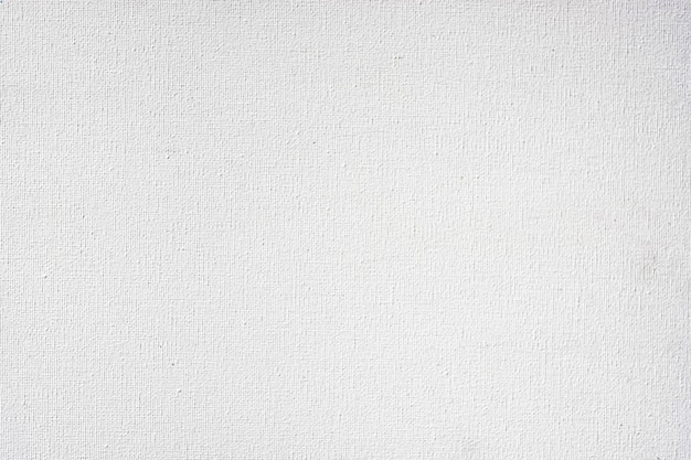 The texture of the white color canvas for the background design image