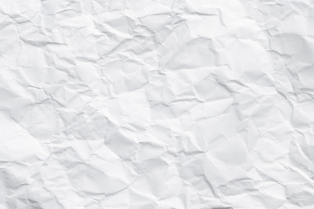 Texture of white crumpled paper for background. new style made from two crumpled papers.