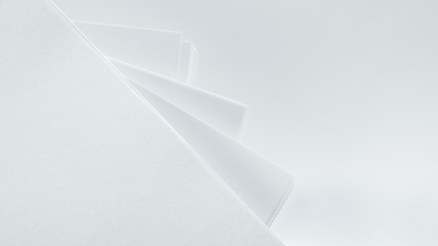 Texture of white crumpled paper. light background, design element.