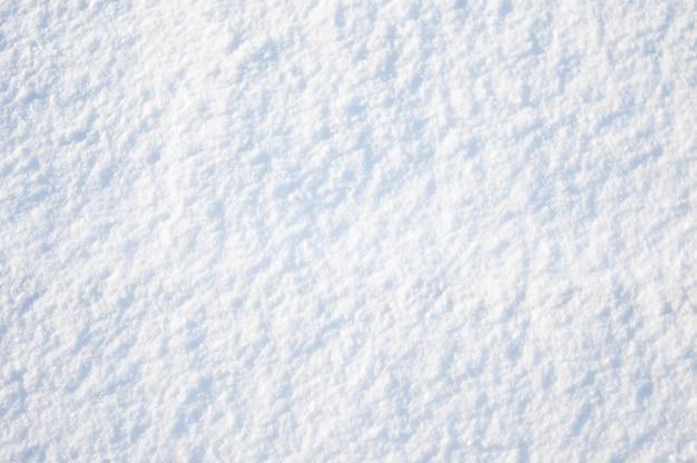 Texture of white snow background
