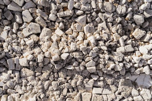 흰 서리로 덮여 텍스처 흰 돌