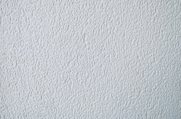 Texture of the white stucco wall background