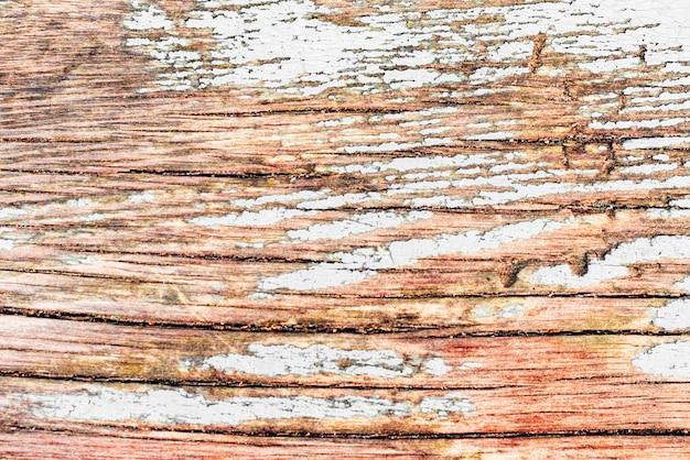 テクスチャー、木、壁、背景として使用できます。傷やひび割れのある木の質感