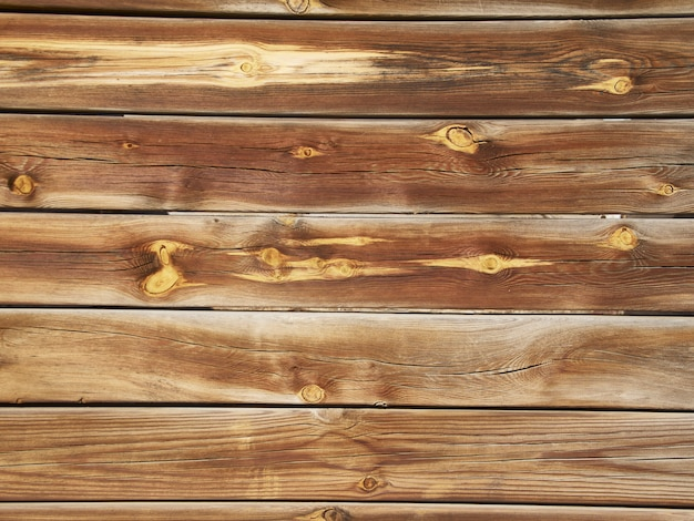 Texture on wooden boards aged by weather and weather conditions