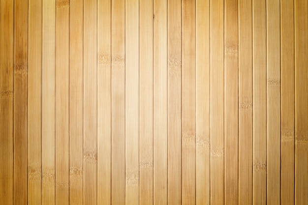 Texture of wooden light brown background with vignette.