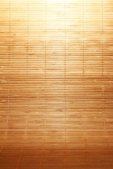 Texture of wooden mat