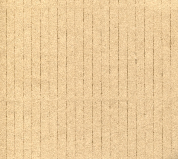 Texture of yellow cardboard striped background