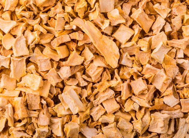 Texture yellow spice mixture roots