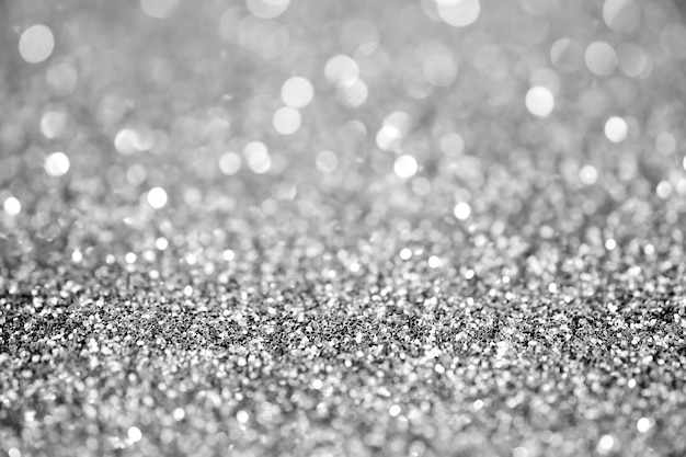 Textured abstract background glitter silver and elegant