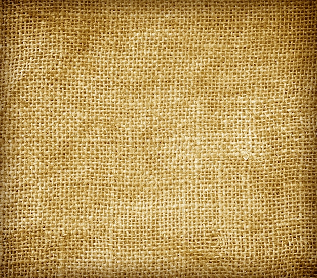 Textured background hemp sacks brown abstract textile industry