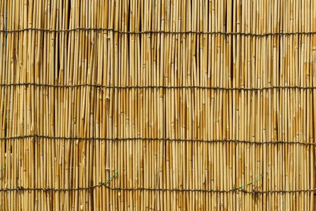 竹の壁のテクスチャの背景