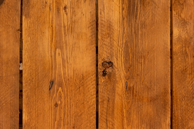 Textured brown wood wall background