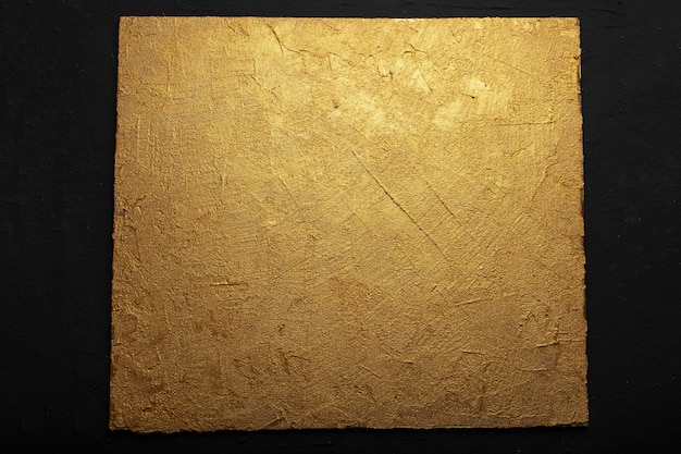Textured embossed gold color background