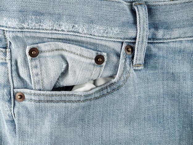 Textured old blue jeans denim vintage style is fashion jeans design
