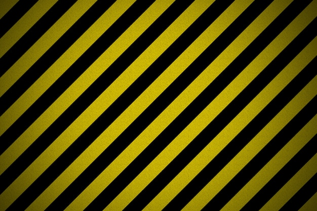 Textured old striped warning background striped background
