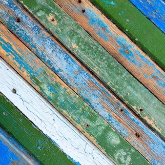 Textured old wooden barn boards