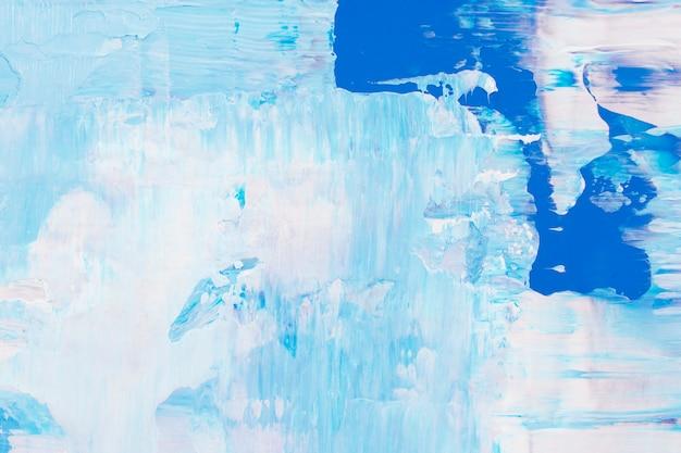 Текстурированные окрашенные фоновые обои, синее абстрактное искусство