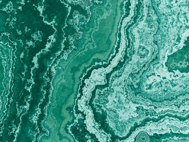 Textured pattern of green marble background