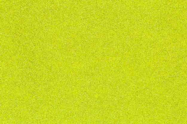 Textured sand paper of green color