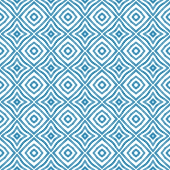 질감된 줄무늬 패턴 파란색 대칭 만화경 배경 섬유 준비 멋진 인쇄 수영...