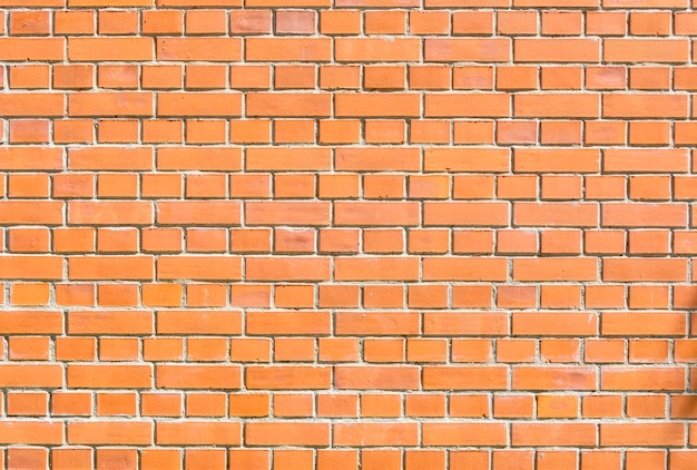 Textures of a brick. red brick wall. background